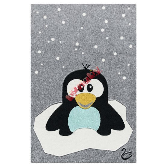 Kinderteppich Pinguin