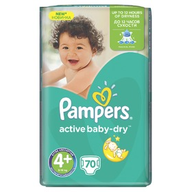 Pampers Giantpack Maxi Plus, Pampers