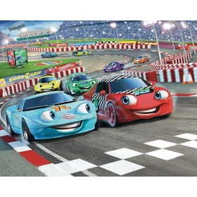 3D Tapete Cars, Walltastic, Cars