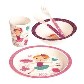 Kinder Essen- Set Danseuse, Nefere