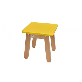 Kinder Stuhl Woody Yellow, Bellamy