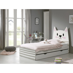 Kinder Bett Cat, VIPACK FURNITURE