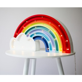 Kinder-Holzleuchte LED REGENBOGEN , Lights My Love