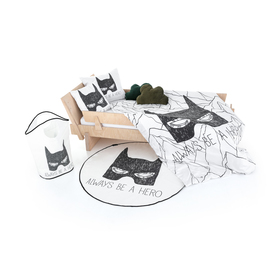 Herr. Little Fox Batman Rug - Sei immer ein Held, Mr. Little Fox