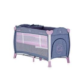 Reisebett CHIPOLINO Play pen Casablanca - Pink Orchid, CHIPOLINO LTD.