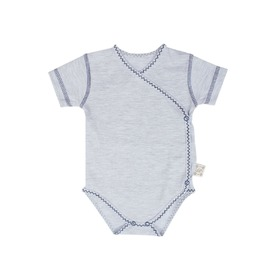 Body Baby mit kurz Ärmeln blue, Gluck Fashion