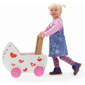Puppenwagen - Holz, EcoToys