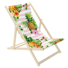 Kinder strand liege Ananas, CHILL