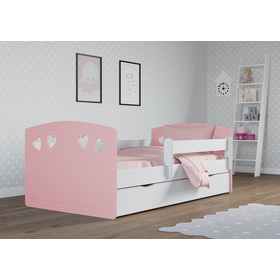Baby bett Julie - pink, All Meble