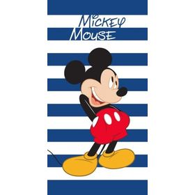 Babyhandtuch Mickey Mouse - blau-weiß, Faro, Mickey Mouse