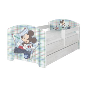 Baby bett se barriere - Mickey Mouse - dekor norwegisch kiefer, BabyBoo, Mickey Mouse